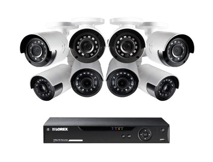 1080p HD Security Camera System with Flir Secure Connectivity MPX88UW
