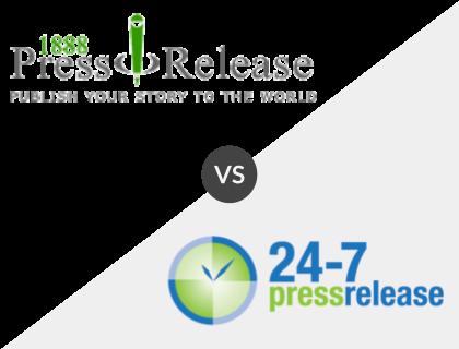 1888PressRelease.com vs 24-7 Press Release