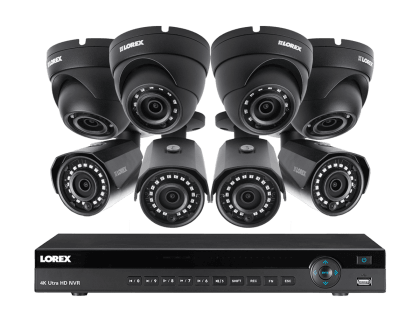 Lorex 8 Channel 2K Resolution Home Security System with 8 IP Cameras (HDIP844DW)