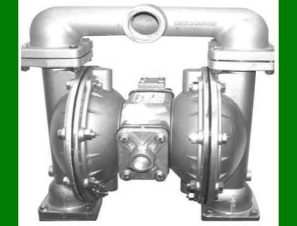 """Alemite, 8323 1"""" Diaphragm Aluminum Pump, Buna Diaphragm Material"""