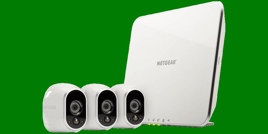 Arlo 720P HD Security Camera System (VMS3330)