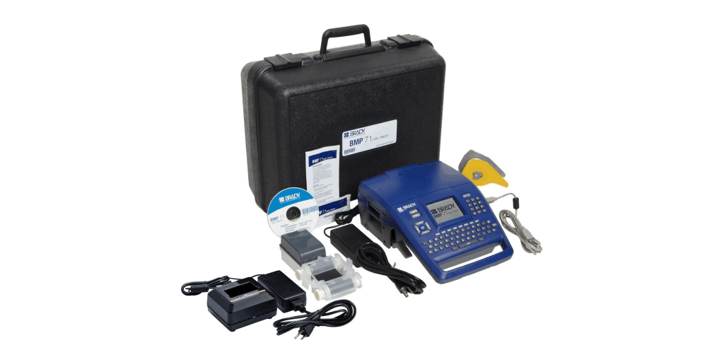 Brady BMP®71-QC Label Printer with Quick Charger