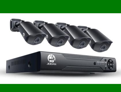 JOOAN 2MP TVI Security Camera System