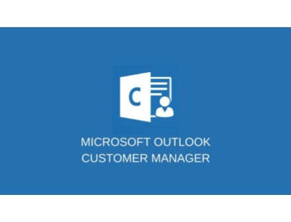 Microsoft Outlook Customer Manager
