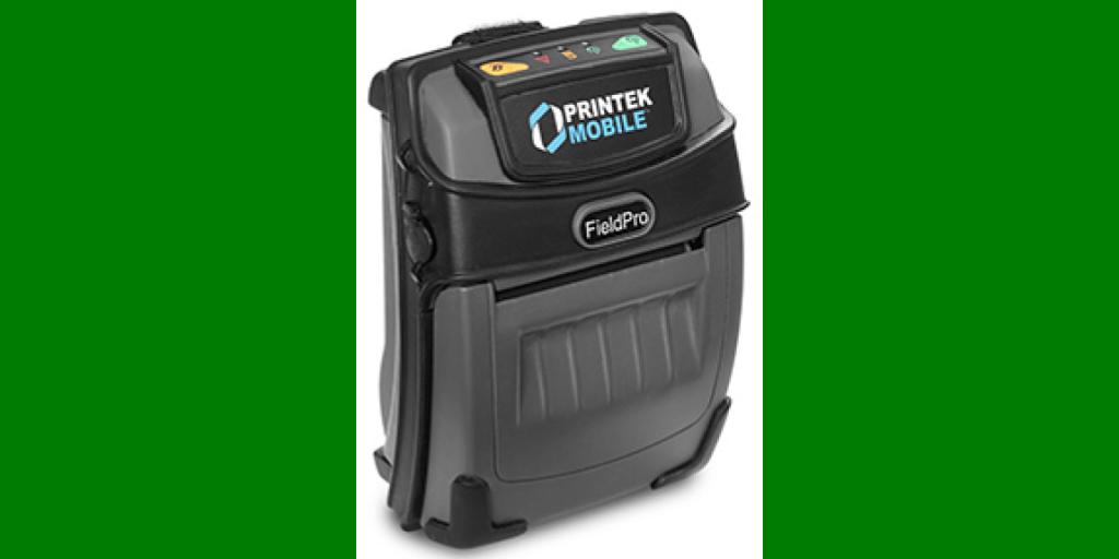Printek 93182 FieldPro 530 Label Printer w/o battery