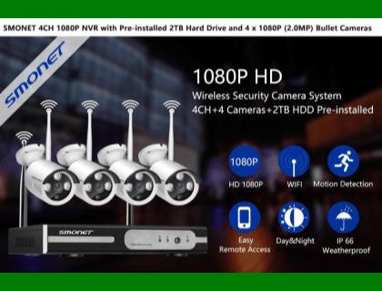 SMONET 4CH 1080p NVR