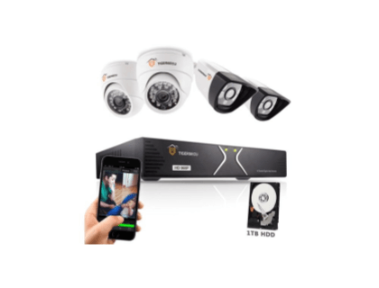 TIGERSECU AHD 4CH 960P DVR Kit