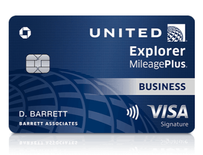 United Mileage Plus Explorer Business Card