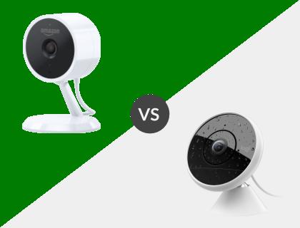 Amazon Cloud Cam vs. Logitech Circle 2