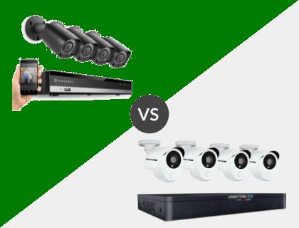 Amcrest HD 1080P-Lite 8CH System vs. Night Owl 8 Channel HD 1TB DVR System