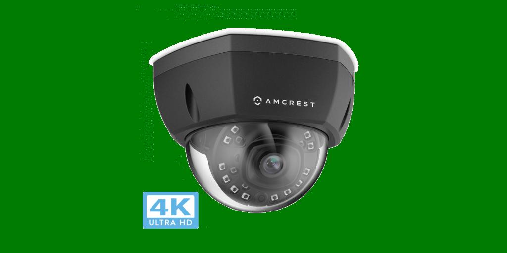 Amcrest Ultra HD 4K Dome Security Camera