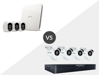 Arlo Smart Security System with 3 Arlo Cameras vs. Night Owl 8 Channel HD 1TB DVR System