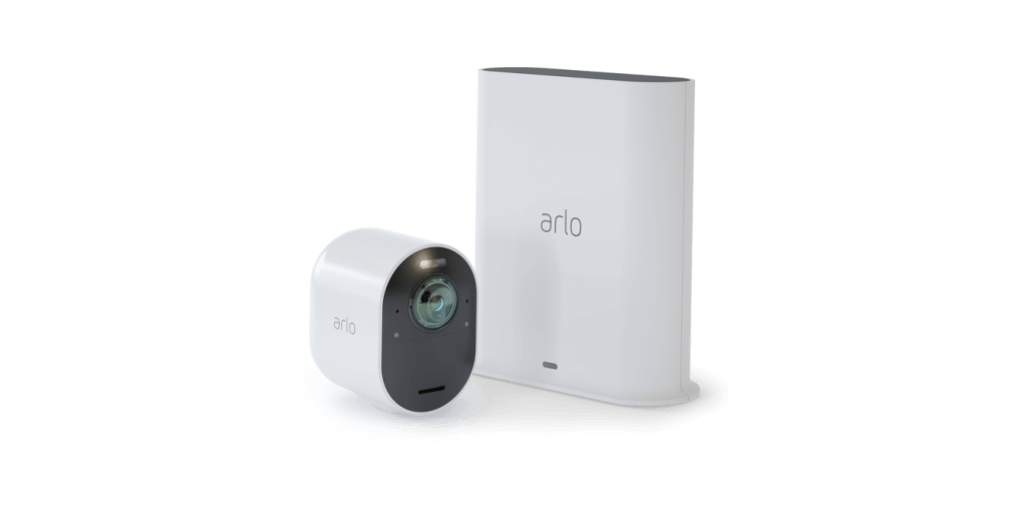 Arlo Ultra Indoor/Outdoor Wire Free 4K HDR Security Camera System