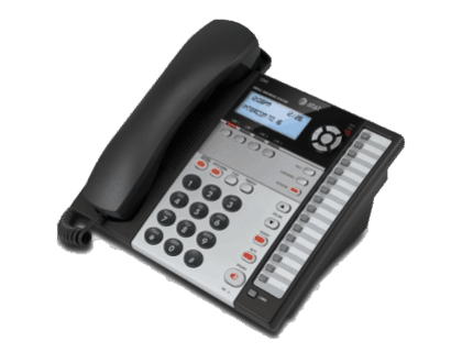 AT&T 1070 4 Line Expandable Corded Phone System