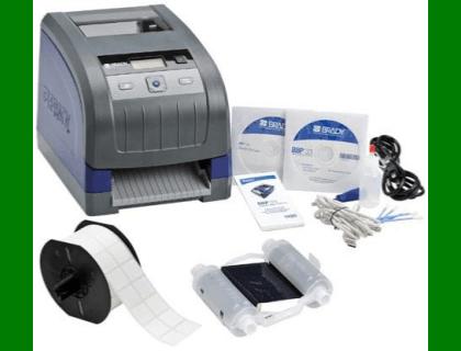 Brady Bbp33 Slidekit 133468 Printer With Slide Label Ribbon