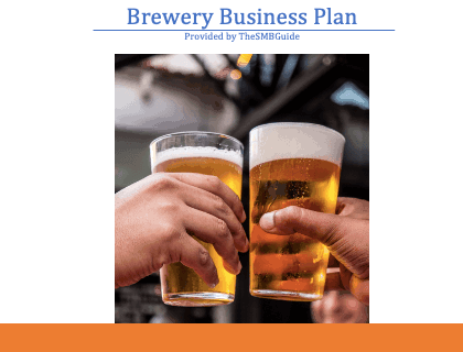 Brewery Business Plan Template Download