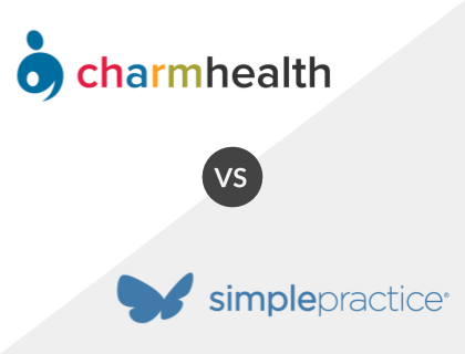 ChARM EHR vs SimplePractice