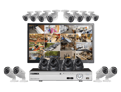 Lorex Complete 16 Camera Security System With Monitor Mpx16124 Mvdw 420X320 20190305