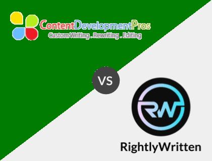 Content Development Pros vs. Rightly Written