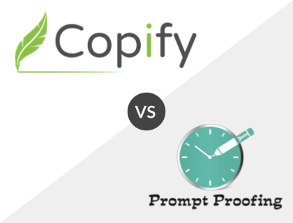 Copify vs. Prompt Proofing