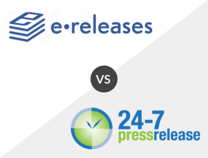 eReleases vs 24-7pressrelease.com