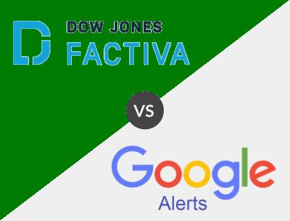 Factiva vs. Google News Alert