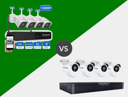 Firstrend 8CH Wireless NVR System vs. Night Owl 8 Channel HD 1TB DVR System