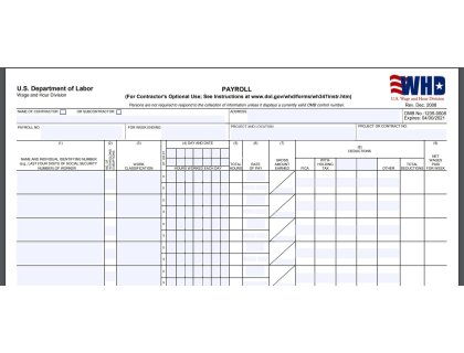 Form WH-347