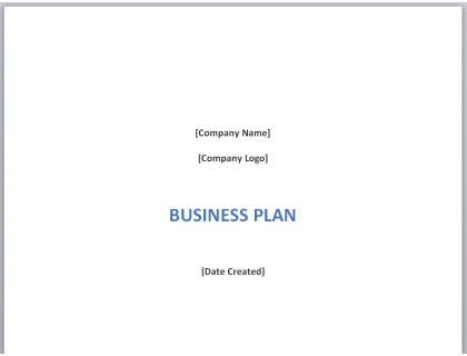 Free T-Shirt Business Plan Template