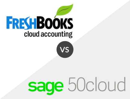 FreshBooks vs Sage 50cloud