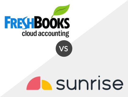 FreshBooks vs. Sunrise