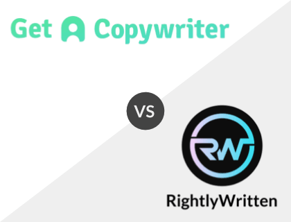 Get A Copywriter vs. Rightly Written