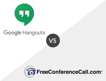 Google Hangouts vs. FreeConferenceCall