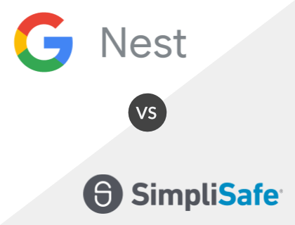 Google Nest Secure vs. SimpliSafe