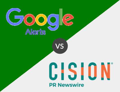 Google News Alerts vs. PR Newswire