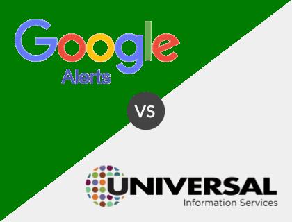 Google News Alerts vs. Universal Information Services