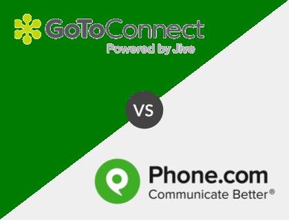 GoToConnect vs. Phone.com