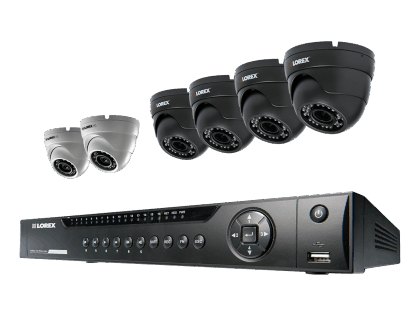 Lorex Home Security System with 6 Cameras and Varifocal Lenses (MPX01642VDW)