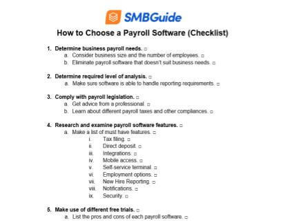 How To Choose A Payroll Software 420X320 20190829