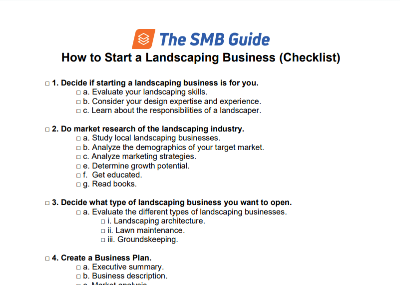 How To Start A Landscaping Business 420X320 20200131