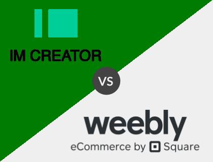 IM Creator vs. Weebly