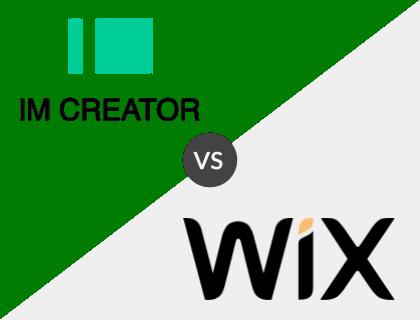 IM Creator vs. Wix