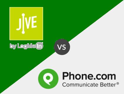 Jive Voice vs. Phone.com
