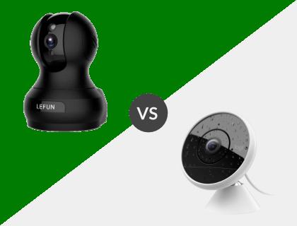 Lefun 1080P Wireless Wifi Camera vs. Logitech Circle 2
