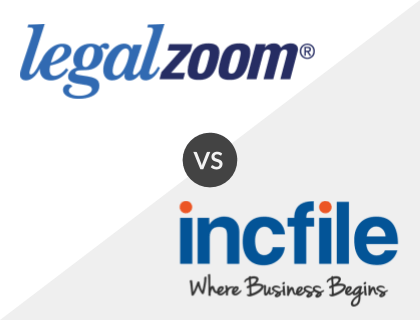 LegalZoom vs. Incfile