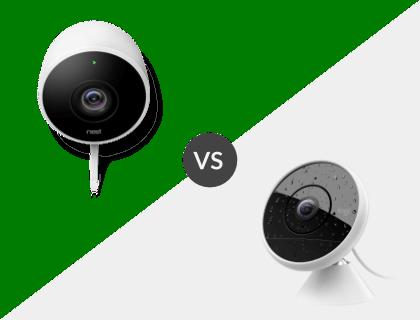 Nest Security Camera vs. Logitech Circle 2