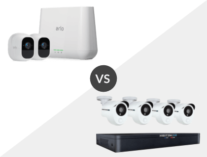 NETGEAR Arlo Pro 2 vs. Night Owl 8 Channel HD 1TB DVR System