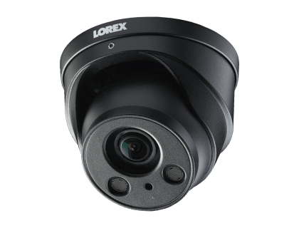 Lorex Nocturnal 4K 8MP IP Dome Security Camera with Zoom Lens (LNE8974BW)