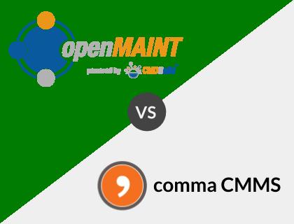 openMAINT vs. comma CMMS