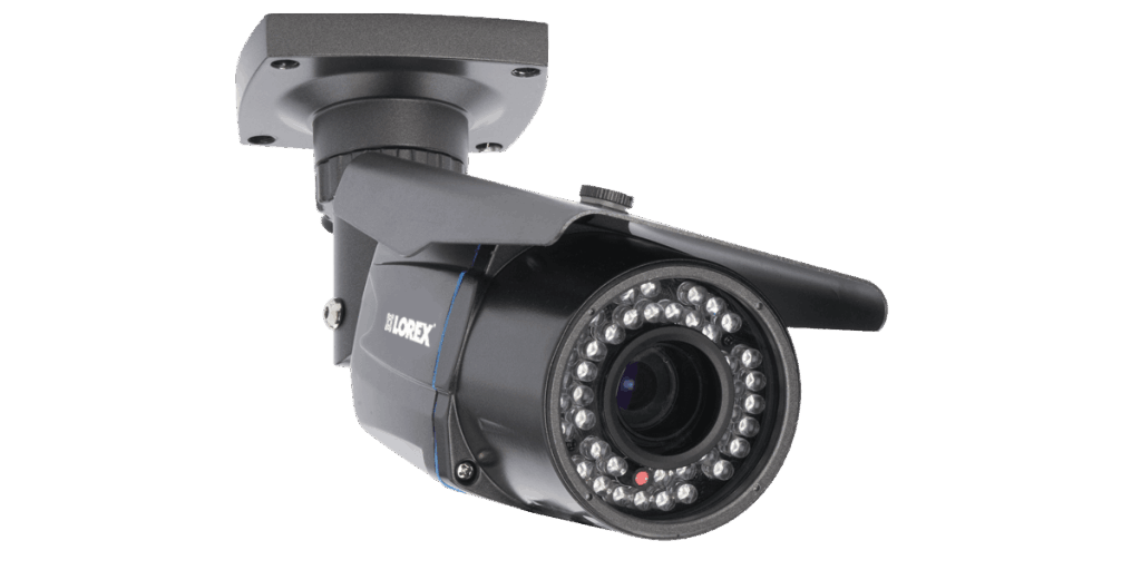 Outdoor Security Camera With Varifocal Lens